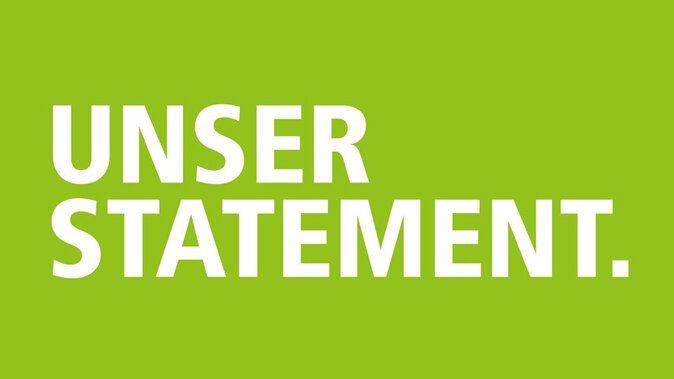 Unser Statement für mehr Nachhaltigkeit