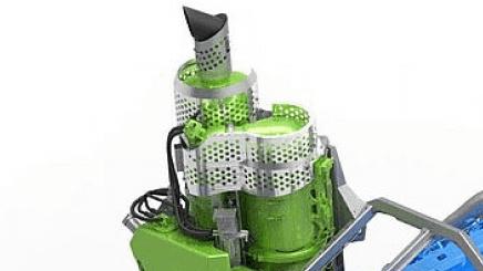 Der Dieselpartikelfilter des PistenBully 600 Polar W.